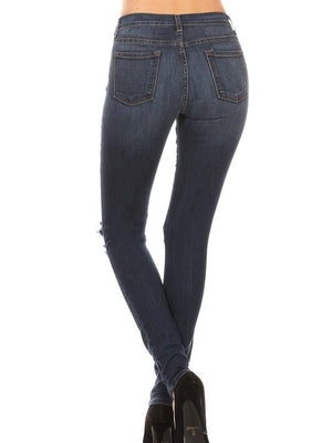 Ciara high rise blue Jeans - Dimesi Boutique