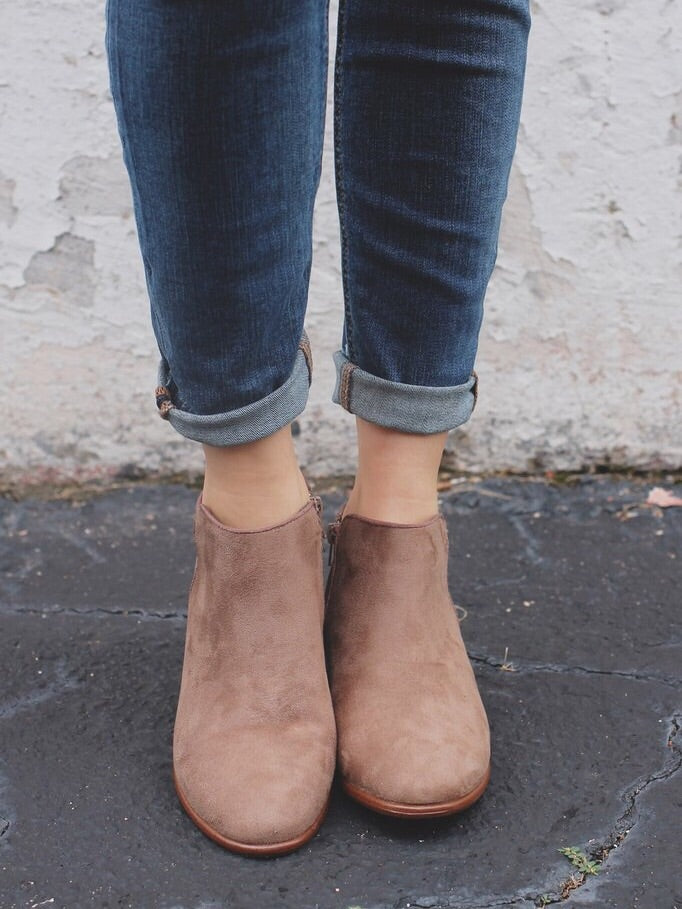 Manny Flat Ankle Booties