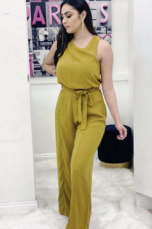 Samara, Harvest gold Jumpsuit - Dimesi Boutique
