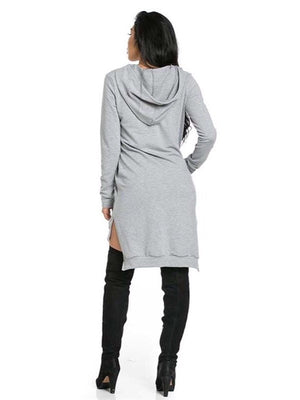 Mia, Sweater dress with hoodie - Dimesi Boutique