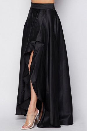 Diana, Black maxi skirt - Dimesi Boutique