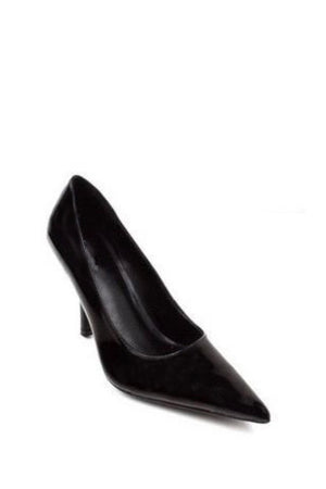 Cosmo, Pointy Leather Heels - Dimesi Boutique