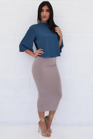 TEALY SKIRT - Dimesi Boutique