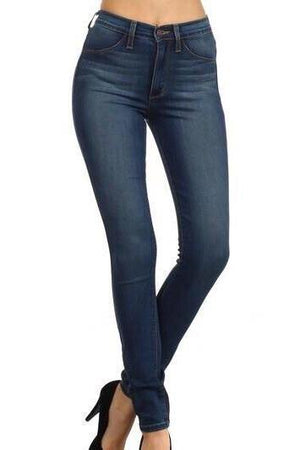 Bella High-rise Denim Jeans - Dimesi Boutique