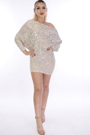 Zara, Sequin mini dress - Dimesi Boutique