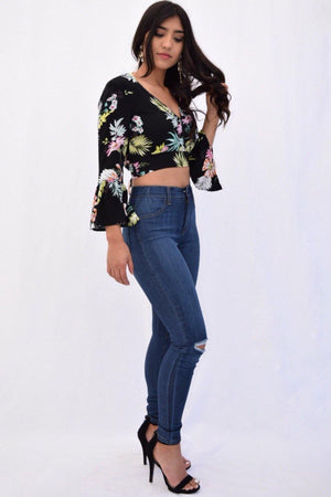 Katrina Crop Top - Dimesi Boutique
