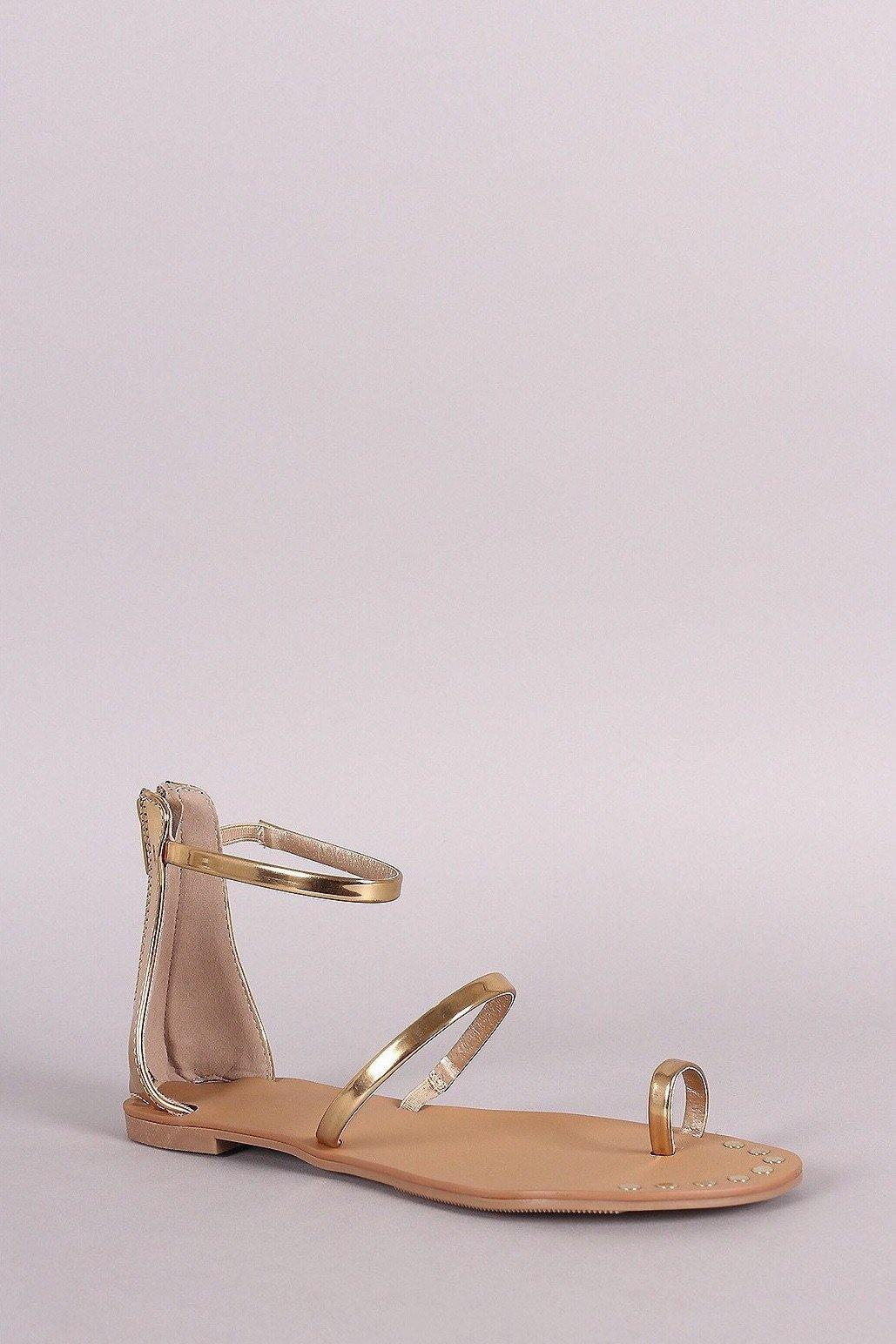 Athena Gold Sandals