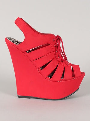 DRAMATIC WEDGES - Dimesi Boutique