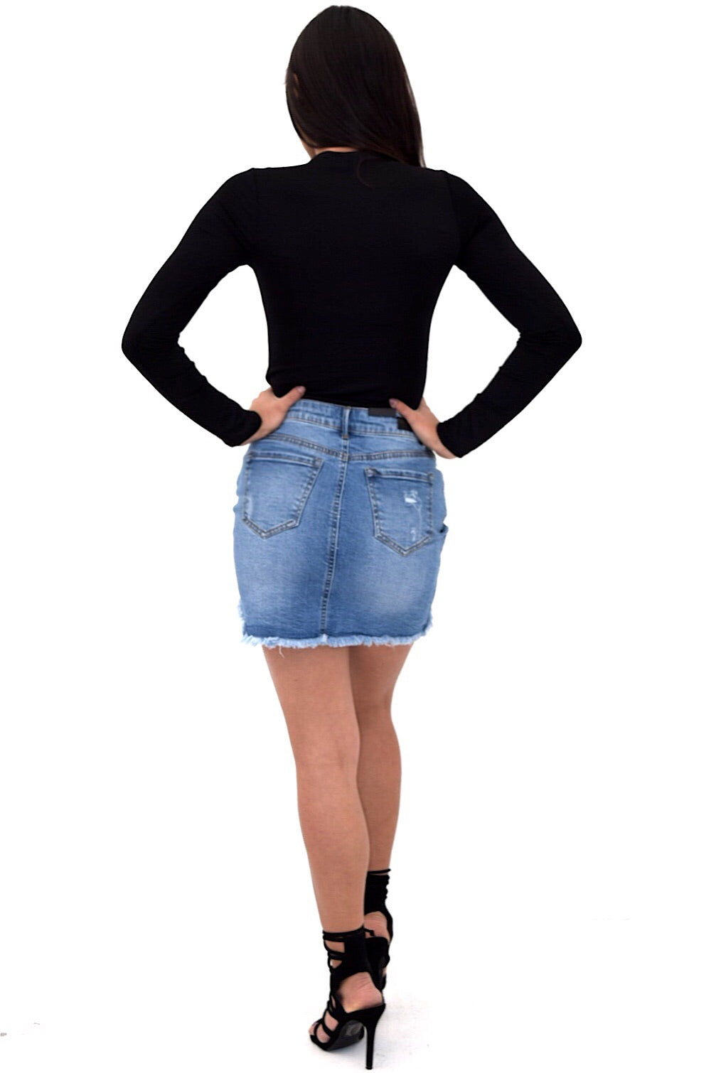 Mikala Denim Skirt
