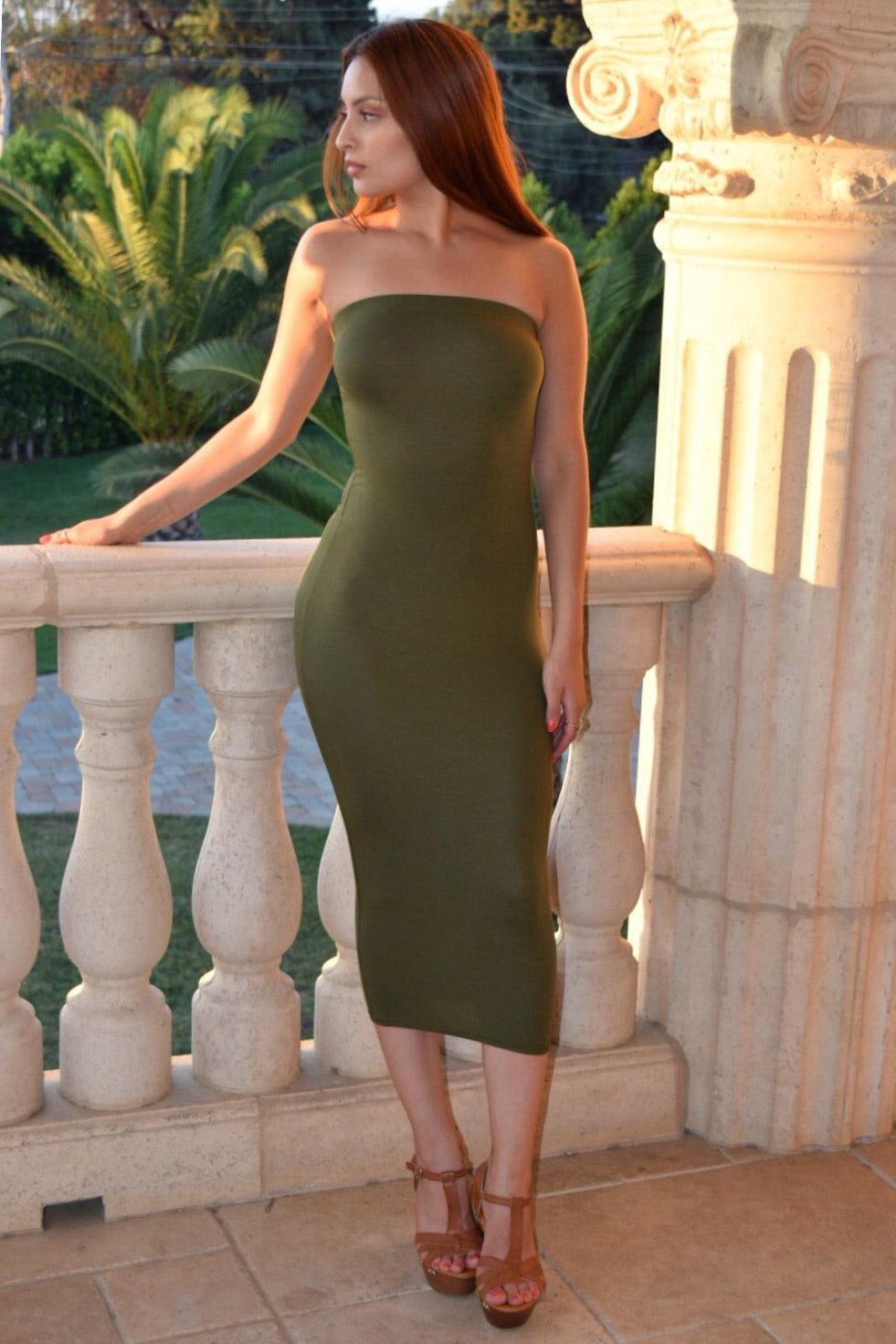 Venecia Strapless Dress