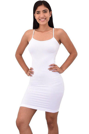 Lani, Spaghetti strap dress slip - Dimesi Boutique