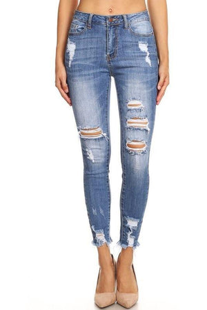 Serenity High Rise Medium Wash Jeans