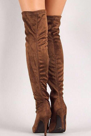 Beverly, Tan Thing High Boots - Dimesi Boutique
