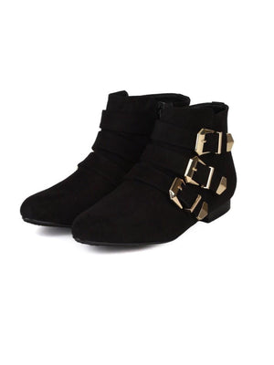 Astro Flat Booties - Dimesi Boutique