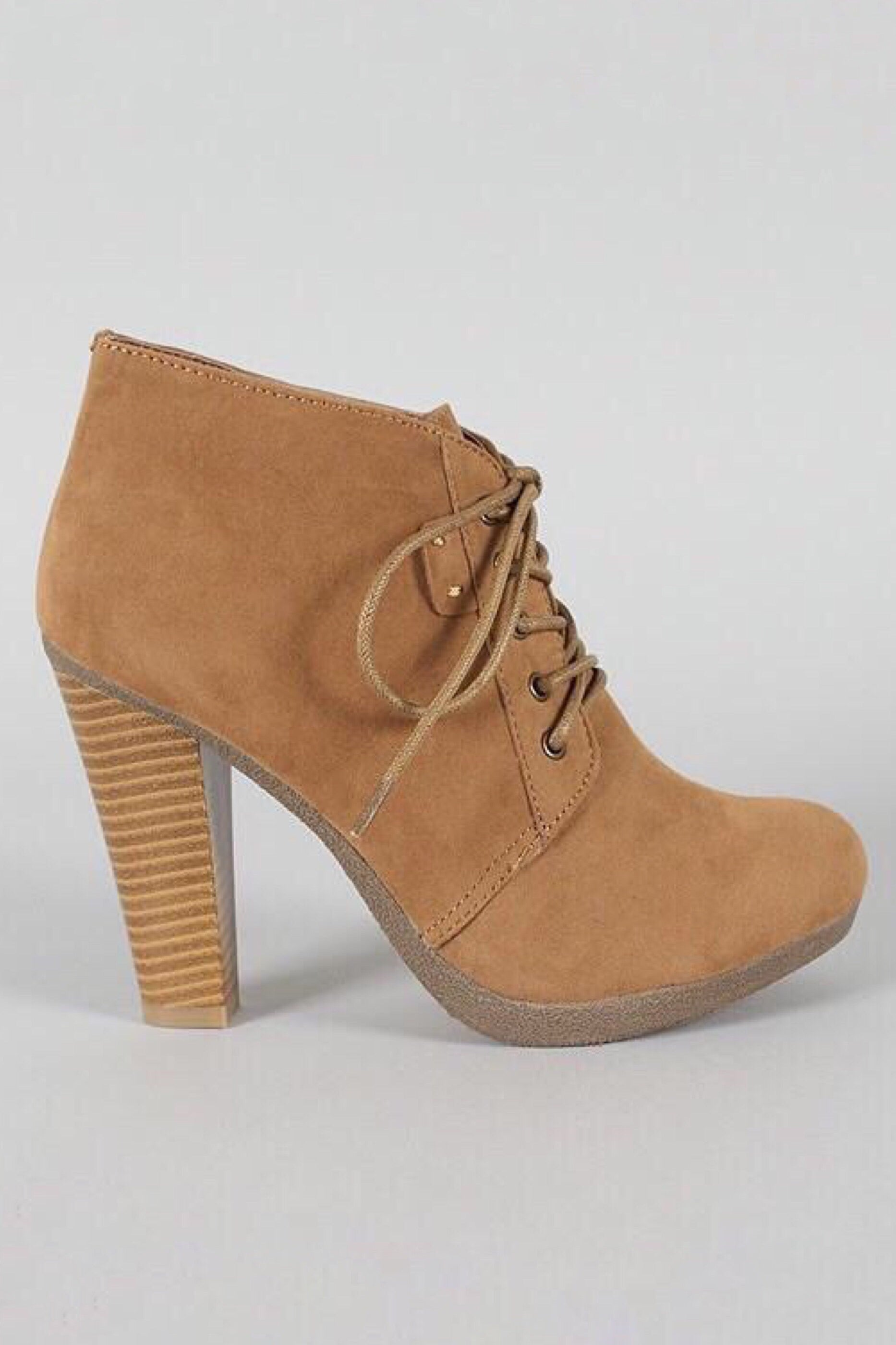Otis tie up Ankle natural booties