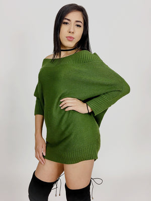 Daisy, Knitted sweater dress - Dimesi Boutique