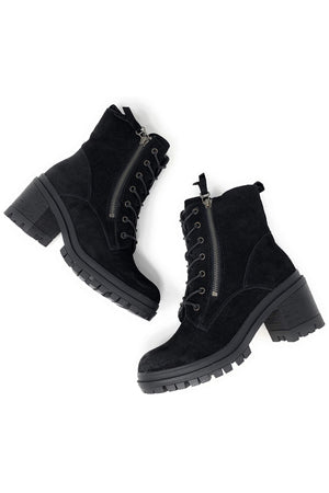 Lace up combat boots - Dimesi Boutique