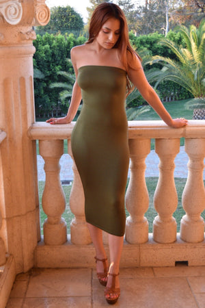 Venecia Strapless Dress - Dimesi Boutique