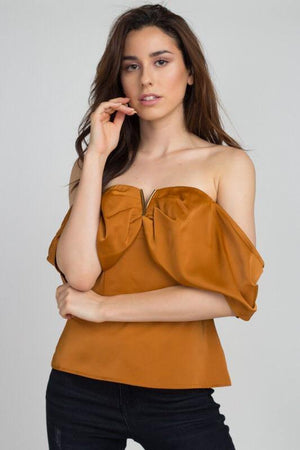 Trisha, Strapless Blouse - Dimesi Boutique