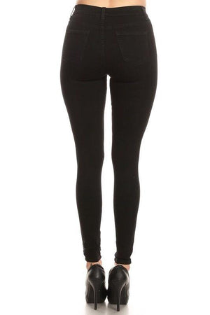 Belinda Black High Waist Jeans