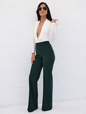 Tori, High rise pants - Dimesi Boutique