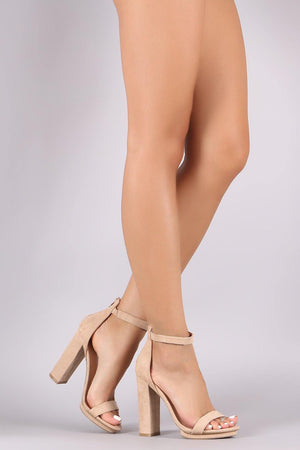Pace ankle Strap chunky Heels - Dimesi Boutique