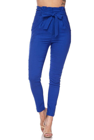 Penny, High Rise Royal Blue Pants