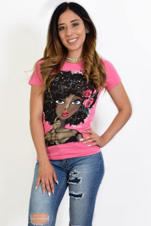 Mariana Graphic Tee - Dimesi Boutique