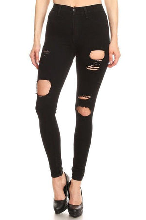 Belinda Black High Waist Jeans - Dimesi Boutique