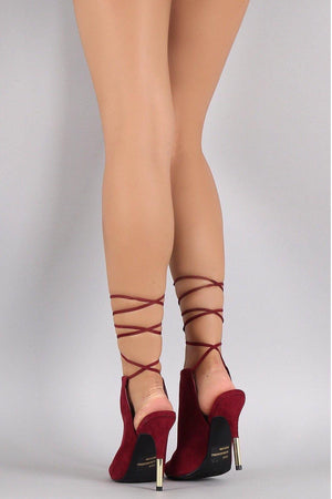 Ara, Peep toe heels with ankle tie up strap - Dimesi Boutique