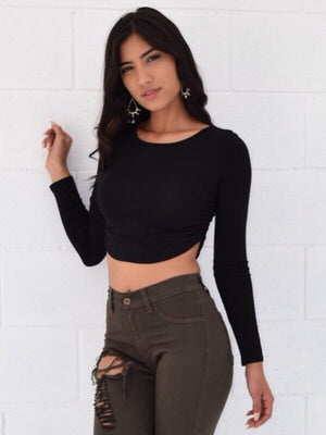 Andee Casual Crop Top