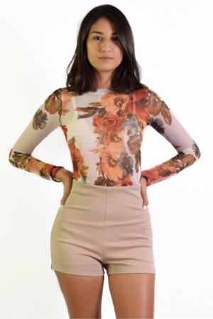 Haven, Floral Top - Dimesi Boutique