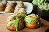 Easy To Make Matcha Cream Puffs!