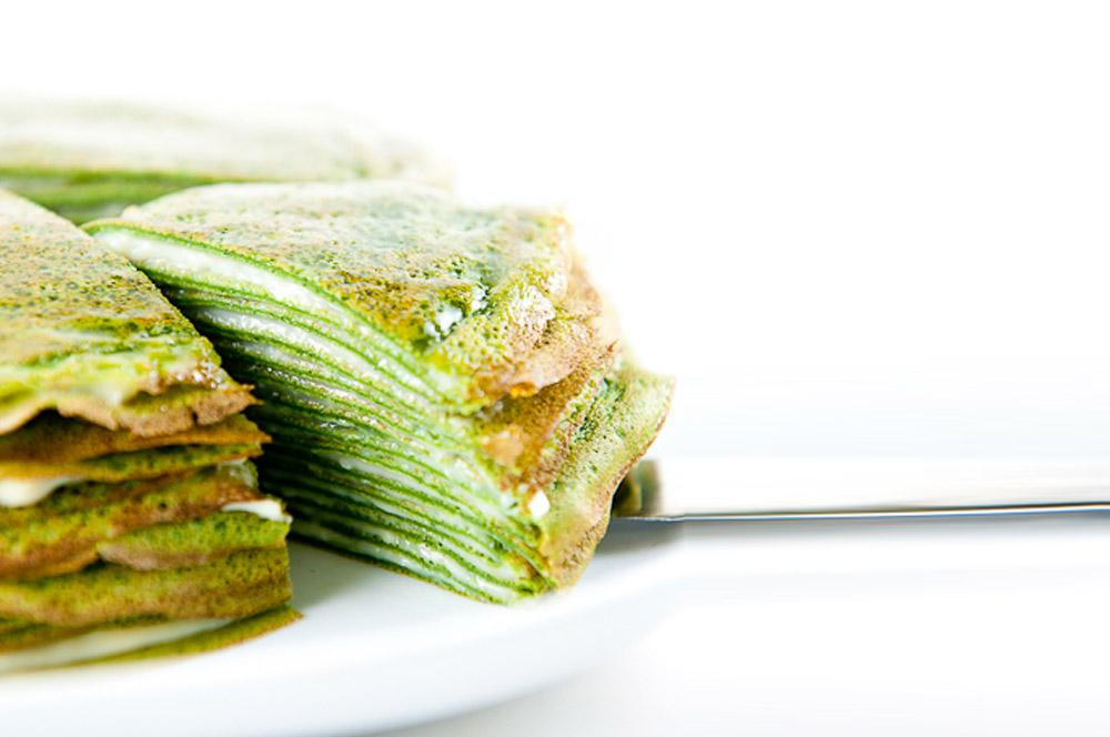 Our Amazing Green Tea Mille Crepe Recipe