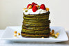 The Best Matcha Green Tea Pancakes