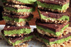 Peppermint & Chocolate Raw Matcha Slice Recipe