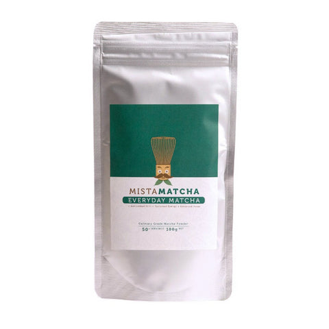 Image of 100g bag organic matcha powder