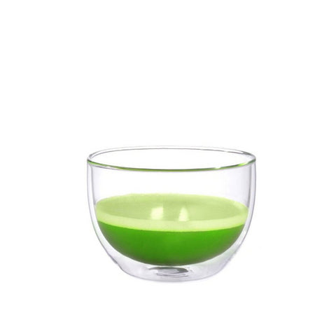 Image of Glass matcha bowl