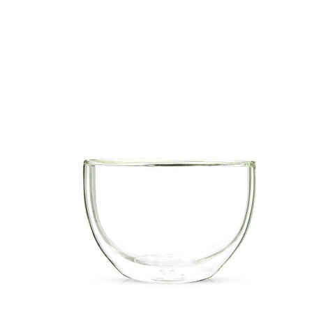 Double Wall Glass Matcha Bowl