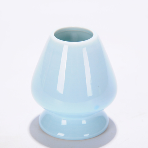 Image of blue matcha whisk holder
