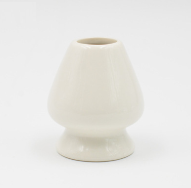Image of White matcha whisk holder