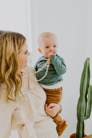 Load image into Gallery viewer, The Greyson Teething Necklace