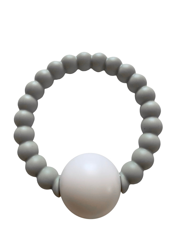 Load image into Gallery viewer, Teether Toy Rattle- Grey