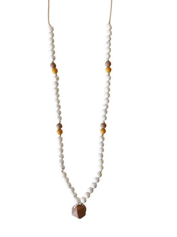 The Sheppard- Moonstone Teething Necklace