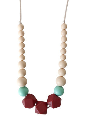 The Lacey- Marsala Teething Necklace