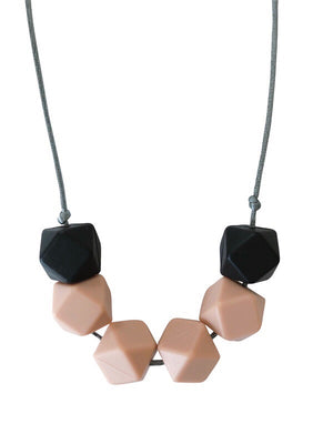 Load image into Gallery viewer, The Jameson- Nude Teething Necklace