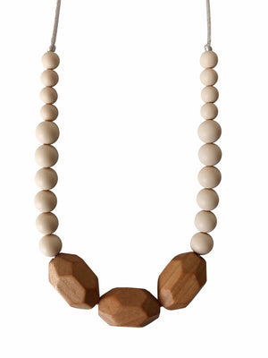 Load image into Gallery viewer, The Austin- Cream Teething Necklace