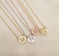 Initial (Medallion) Necklace