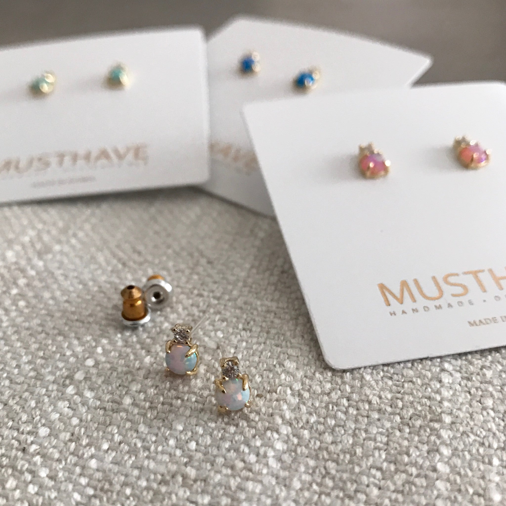 Opal: Bubble Earrings