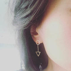 Arrow Stick Earrings